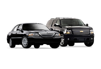 luxury sedan and suv